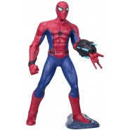 SPIDER-MAN Spiderman SUPER SENSE Giant Figure INTERACTIVE TALKING Web Launcher HASBRO B9704