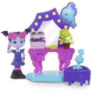 VAMPIRINA Playset SPOOKTACULAR VANITY with FIGURE Original