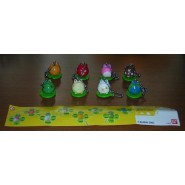 FROG STYLE PART 2 Set 8 Mini Figures DANGLERS Original BANDAI