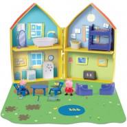 PEPPA PIG Playset Building Blocks DELUXE OPEABLE HOUSE Original