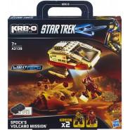 STAR TREK Building Playset SPOCK VOLCANO MISSION Hasbro KRE-O A3139E24