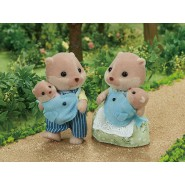 BOXED SET OTTER FAMILY from SYLVANIAN FAMILIES 5359 Epoch