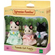 TUXEDO CAT FAMILY from SYLVANIAN FAMILIES 5306 Epoch
