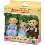 YELLOW LABRADOR FAMILY from SYLVANIAN FAMILIES 5305 Epoch