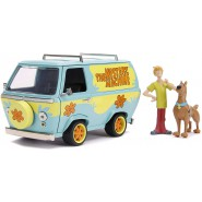 MISTERY MACHINE With Figures of Shaggy and Sccoby-Doo 1/24 DIE CAST Marvel JADA Toys