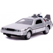 Back To The Future Part 2 Model Car DeLorean DMC Time Machine 1/32 13cm Metal DieCast Jada BTTF
