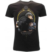 FANTASTIC BEAST T-Shirt Jersey Black NIFFLER Original OFFICIAL Film Warner Bros