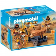 Playset EGYPTIAN TROPP WITH BALLISTA Egypt Playmobil History 5388