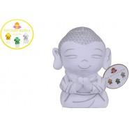 Plush Peluche Happiness Baby BUDDHA White 25cm Budda Bhudda Buddah