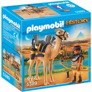 Playset EGYPTIAN WARRIOR WITH DROMEDARY Egypt Playmobil History 5389
