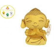 Plush Peluche Money Baby BUDDHA Gold 25cm Budda Bhudda Buddah Richness