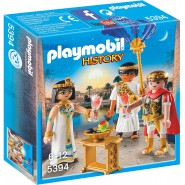 Playset CAESAR AND CLEOPATRA Egypt Playmobil History 5394