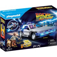 Playset BACK TO THE FUTURE Car DeLorean Figures LIGHTS Playmobil 70137