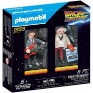 BACK TO THE FUTURE Box 2 FIGURES 1955 Marty McFly and Dr. Emmet Brown Playmobil 70459