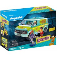 Playset SCOOBY DOO Car Van MISTERY MACHINE with 3 FIGURES Playmobil 70286