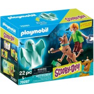 SCOOBY DOO Box 3 FIGURES Scooby Shaggy Ghost Playmobil 70287
