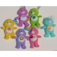 SET 6 Plush 20cm CARE BEARS - SERIE 1 Official Original with plastic HEART