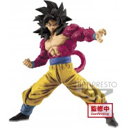 DRAGONBALL GT Figure Statue SON GOKU SUPER SAIYAN 4 Full Scratch 18cm Original BANDAI Banpresto
