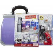 VIOLET Case Set DELUXE ULTIMATE LAB KIT Chemical PROJECT MC2 30 Tools Netflix MGA English