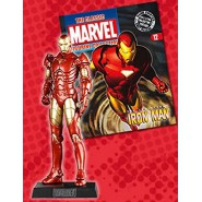IRON MAN With Character Booklet Figure LEAD 8cm Classic Figurine Collection Serie MARVEL Eaglemoss