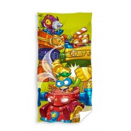 SUPERZINGS 3 Characters Beach Towel 70x140cm Bath ORIGINAL Official