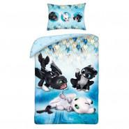 Bed Set Child BABY DRAGON KIDS How To Train Your Dragon Baby Duvet Cover 100x135 + 40x60cm Cotton ORIGINAL