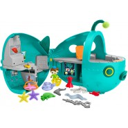 Playset OCTONAUTS Midnight Zone GUP-A Ship Submarine 2 in 1 Glows in the dark
