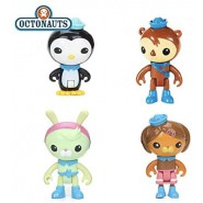 OCTONAUTS Set 4 FIGURES Octo-Crew Pack Dashi Tweak Shellington Peso Fisher Price
