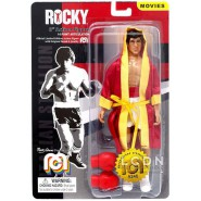 Action Figure 18cm ROCKY BALBOA Veste Rossa e Guantoni Marte Abrams MEGO Limited Rare