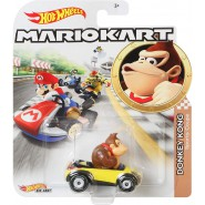 DieCast Model Car DONKEY KONG Sports Coupe KART From SUPER MARIO Scale 1:64 5cm Hot Wheels
