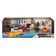 Die Cast BOXED Set 4 Models Fast And Furious 1:64 7cm Hot Wheels GMH41