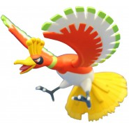 POKEMON Figure HO-OH Bird 8cm ML-01 MONCOLLE Tomy JAPAN