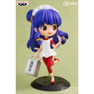 Figure Girl SHAMPOO 14cm RANMA 1/2 QPOSKET Banpresto Normal Violet Hair Version A Manga