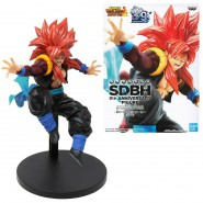 GOGETA Figure Statue 14cm SDBH 9th Anniversary Figure Banpresto Super Dragon Ball Heroes Bandai Banpresto