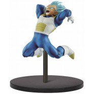 DRAGON BALL Figure Statue 10cm VEGETA GOD SS Solitary Warrior BANPRESTO Originale