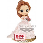 Figure Statue 14cm BELLE Wedding Dress Pink Beauty and the Beast QPOSKET Banpresto SPECIAL Collection Vol. 2 DISNEY