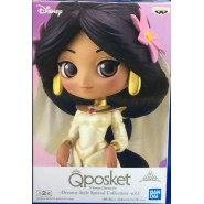 Figure Statue 14cm JASMINE From Aladdin Bride QPOSKET Banpresto DISNEY Special Collection Vol. 1