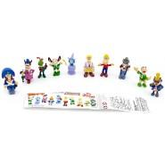Rare COMPLETE SET 10 Mini Figures PINOCCHIO Original ZAINI Pinochio Pinocio