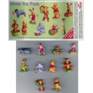 Rare COMPLETE SET 10 Mini Figures WINNIE THE POOH 2006 TOYS Original DISNEY ZAINI