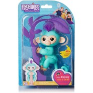 FINGERLINGS Monkey ZOE 12cm WATER GREEN Baby Monkey Robotic Interactive WowWee