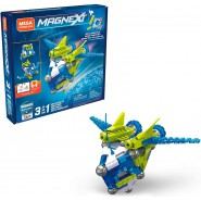 MAGNEXT Playset MAGNETIC MAG ROCKET IN 1 Mega Costrux 56 pieces GFF24
