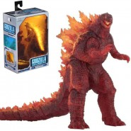 GODZILLA BURNING Figura Action 30cm from GODZILLA KING OF MONSTERS 2019 Version 3 ORIGINAL Neca