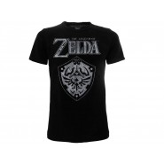 The LEGEND OF ZELDA T-Shirt SHIELD LOGO Jersey OFFICIAL Original