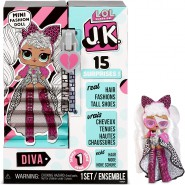 Fashion Doll DIVA New J.K. SERIE 1 Mini O.M.G. ORIGINAL L.O.L. Surprise MGA LOL OMG