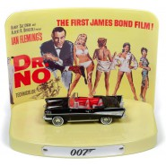 007 Model 8cm Car 1957 CHEVY BEL AIR CONVERTIBLE Dr. NO 1:64 Diorama Original Johnny Lightning TIN Release 1 Part 2