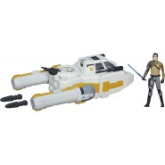 Star Wars Y-WING SCOUT BOMBER with Figure KANAN JARRUS Hasbro B3675