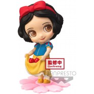 Figure Statue 10cm SNOW WHITE With Apples SWEETINY Normal Color Dress Banpresto DISNEY Normal Version A