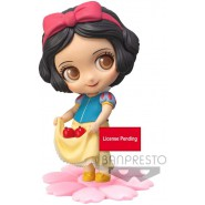 Figure Statue 10cm SNOW WHITE With Apples SWEETINY Pastel Color Dress Banpresto DISNEY Normal Version B