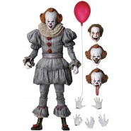 Action Figure PENNYWISE from movie IT Chapter 2 2019 Stephen King Clown With Accessories NECA 45454