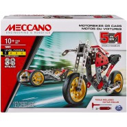 MECCANO Kit Set MOTORBIKES OR CARS 19201 Construction ORIGINAL Spin Master